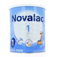 Novalac 1 Lait En Poudre 1er âge B/800g