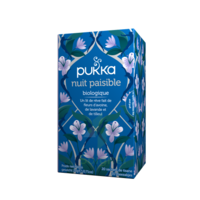 PUKKA BIO Nuit Paisible Tisane sommeil 20 Sachets à AYGUESVIVES