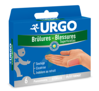 Urgo Brulures-blessures Petit Format X 6 à AYGUESVIVES