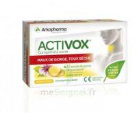 Activox Comprimés à Sucer Citron B/24 à AYGUESVIVES