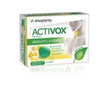 Activox Sans Sucre Pastilles Menthe Eucalyptus B/24 à AYGUESVIVES