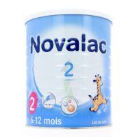 Novalac 2 Lait En Poudre 2ème âge B/800g* à AYGUESVIVES