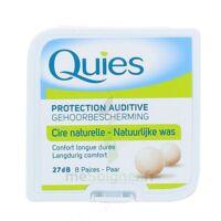 QUIES PROTECTION AUDITIVE CIRE NATURELLE 8 PAIRES à AYGUESVIVES