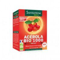 Santarome Bio Acérola 1000 Comprimés à Croquer 2t/10 à AYGUESVIVES