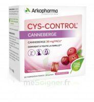 Cys-control 36mg Poudre Orale 20 Sachets/4g à AYGUESVIVES