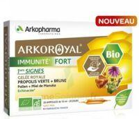 Arkoroyal Immunité Fort Solution Buvable 20 Ampoules/10ml à AYGUESVIVES