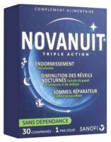 Novanuit Triple Action Comprimés B/30 à AYGUESVIVES