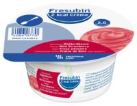 Fresubin 2kcal Crème Sans Lactose Nutriment Fraise Des Bois 4 Pots/200g à AYGUESVIVES