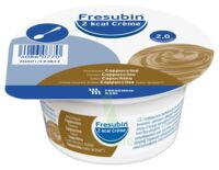 Fresubin 2kcal Crème Sans Lactose Nutriment Cappuccino 4 Pots/200g