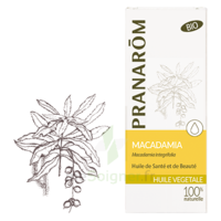 Pranarom Huile Végétale Bio Macadamia 50ml à AYGUESVIVES