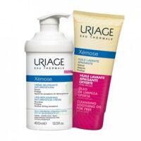 Xémose Crème Relipidante Anti-irritations Fl Pompe/400ml + Huile Lavante 200ml à AYGUESVIVES