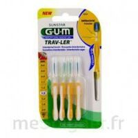 Gum Trav - Ler, 1,3 Mm, Manche Jaune , Blister 4 à AYGUESVIVES
