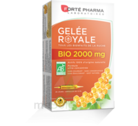 Forte Pharma Gelée Royale Bio 2000 Mg Solution Buvable 20 Ampoules/15ml à AYGUESVIVES