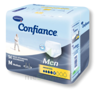 Confiance Men Slip Absorbant Jetable Absorption 5 Gouttes Medium Sachet/14 à AYGUESVIVES