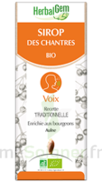 Herbalgem Sirop Bio Des Chantres 150ml à AYGUESVIVES