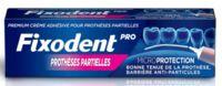 Fixodent Pro Crème adhésive pour prothèse partielle T/40g à AYGUESVIVES