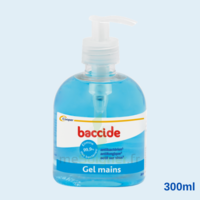 Baccide Gel mains désinfectant sans rinçage 300ml à AYGUESVIVES