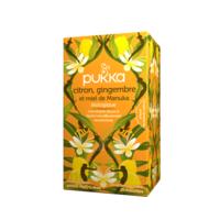 Pukka Bio Citron, Gingembre Et Miel De Manuka Tisane Immunité Citron Gingembre Miel De Manuka 20 Sachets à AYGUESVIVES