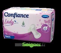 Confiance Lady Protection anatomique incontinence 4 gouttes Sachet/14 à AYGUESVIVES