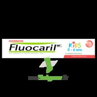Fluocaril Kids Dentifrice Fraise 0-6 Ans T/50ml à AYGUESVIVES