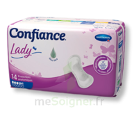 Confiance Lady Protection anatomique incontinence 4.5 gouttes Sachet/14 à AYGUESVIVES