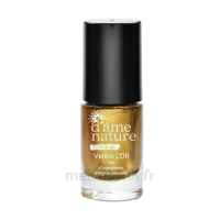 D'ame Nature Ecrinal Vernis Soin L'or Fl/5ml à AYGUESVIVES